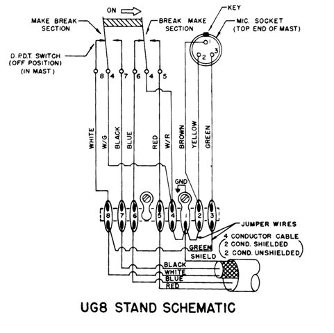 UG8 d 104 ug8 stand question worldwidedx radio forum astatic silver eagle wiring diagram at honlapkeszites.co